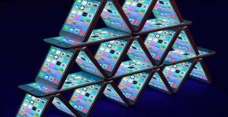 pyramide de smartphone